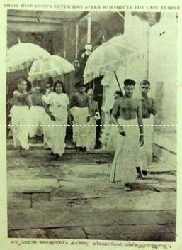 Maharaja of Travancore_kdb